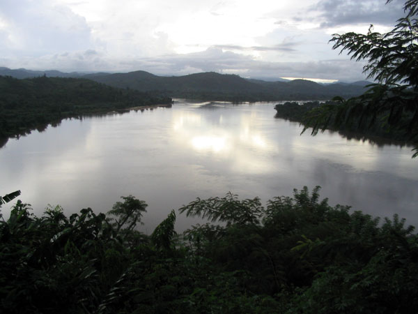 View of Ankavanana River from the Colline de Vinany